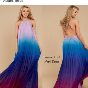 Dresses & Skirts - Maxi Dress Vacation Ombre
